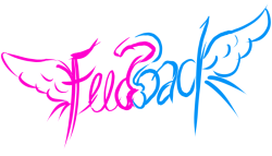 Feedback handlettered image